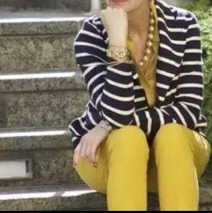 Tori Birch Augusta nautical stripe  jacket SZ L